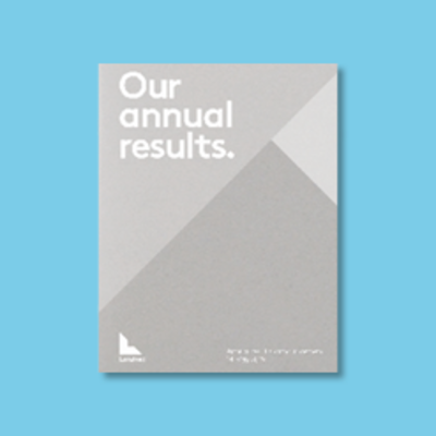 Annual results cover