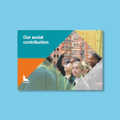 Social contribution report cover