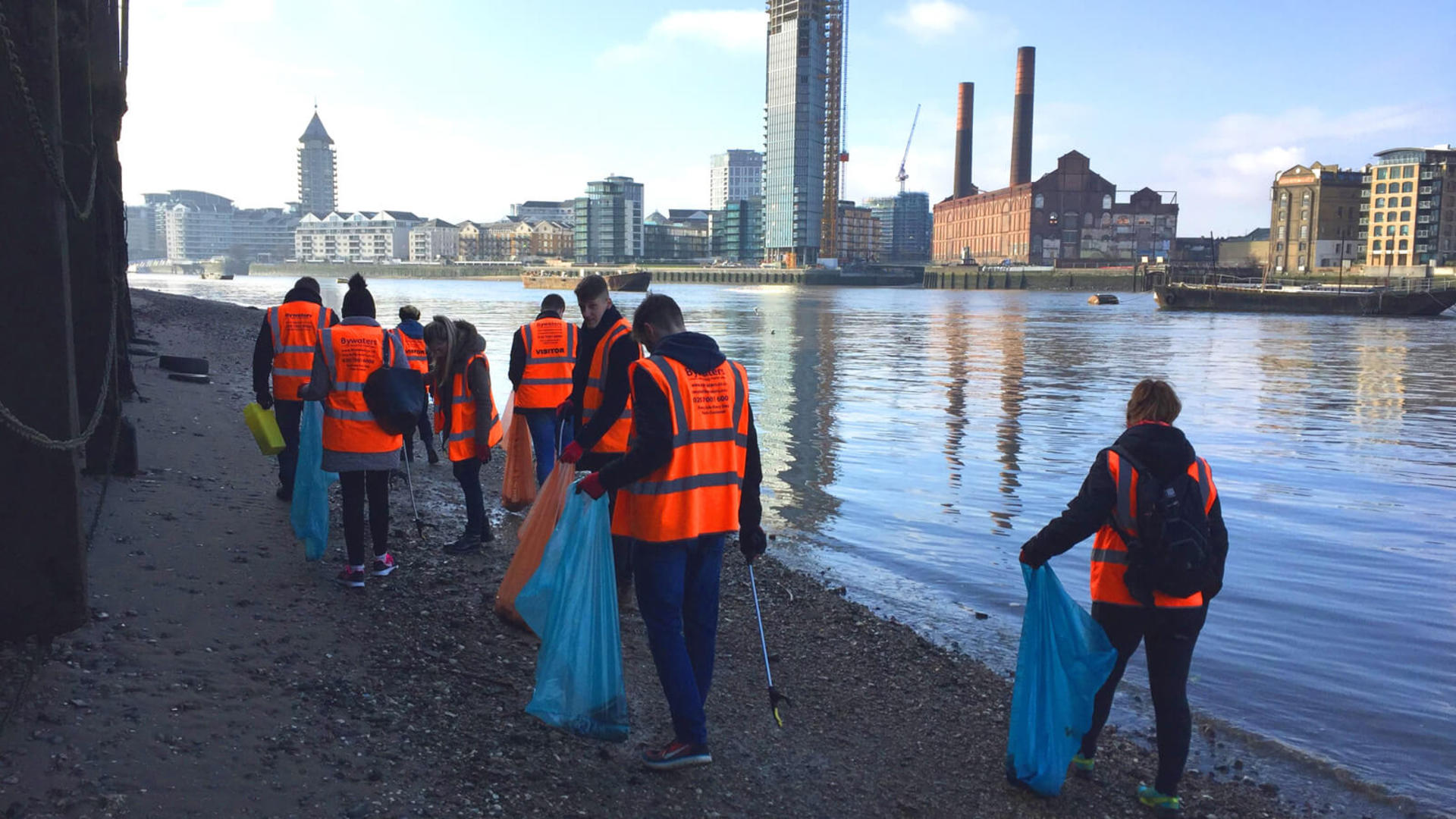 Bywaters litter pick