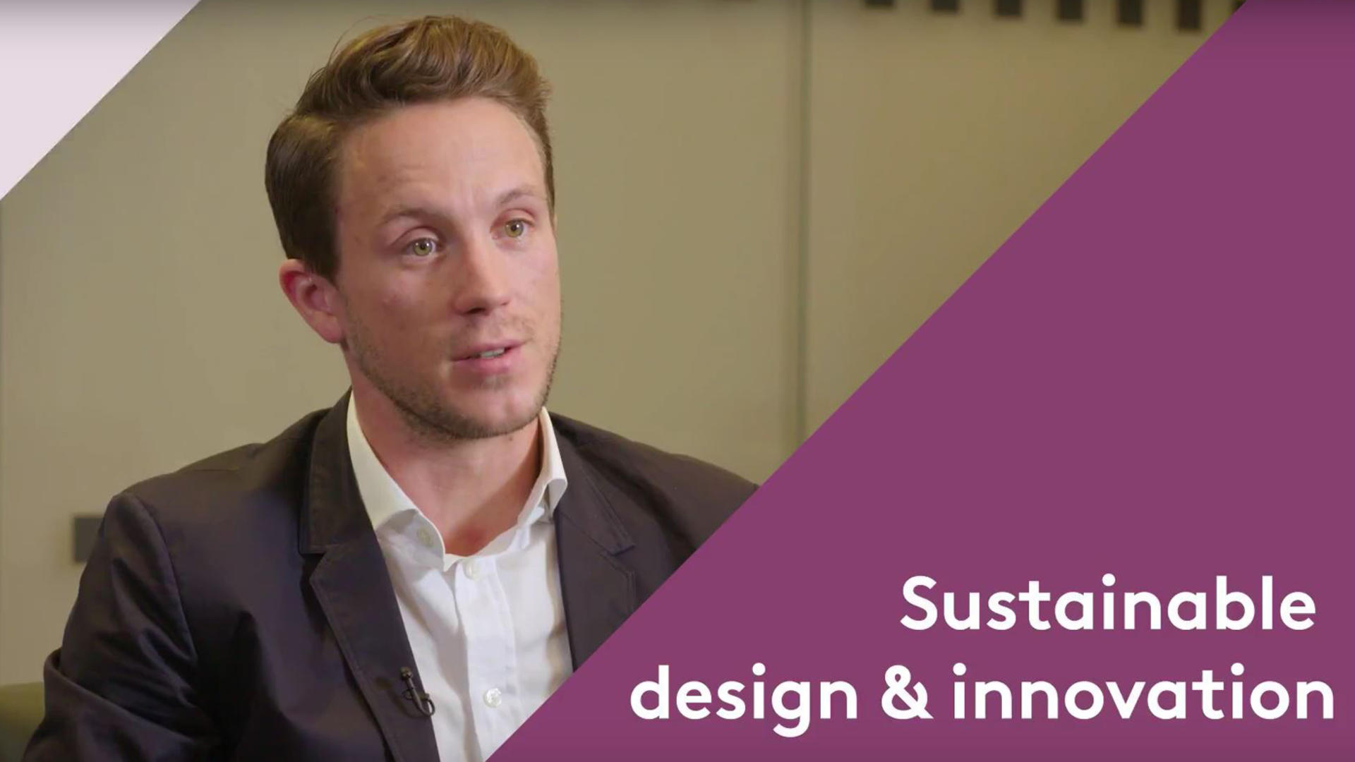 Sustainability brief video