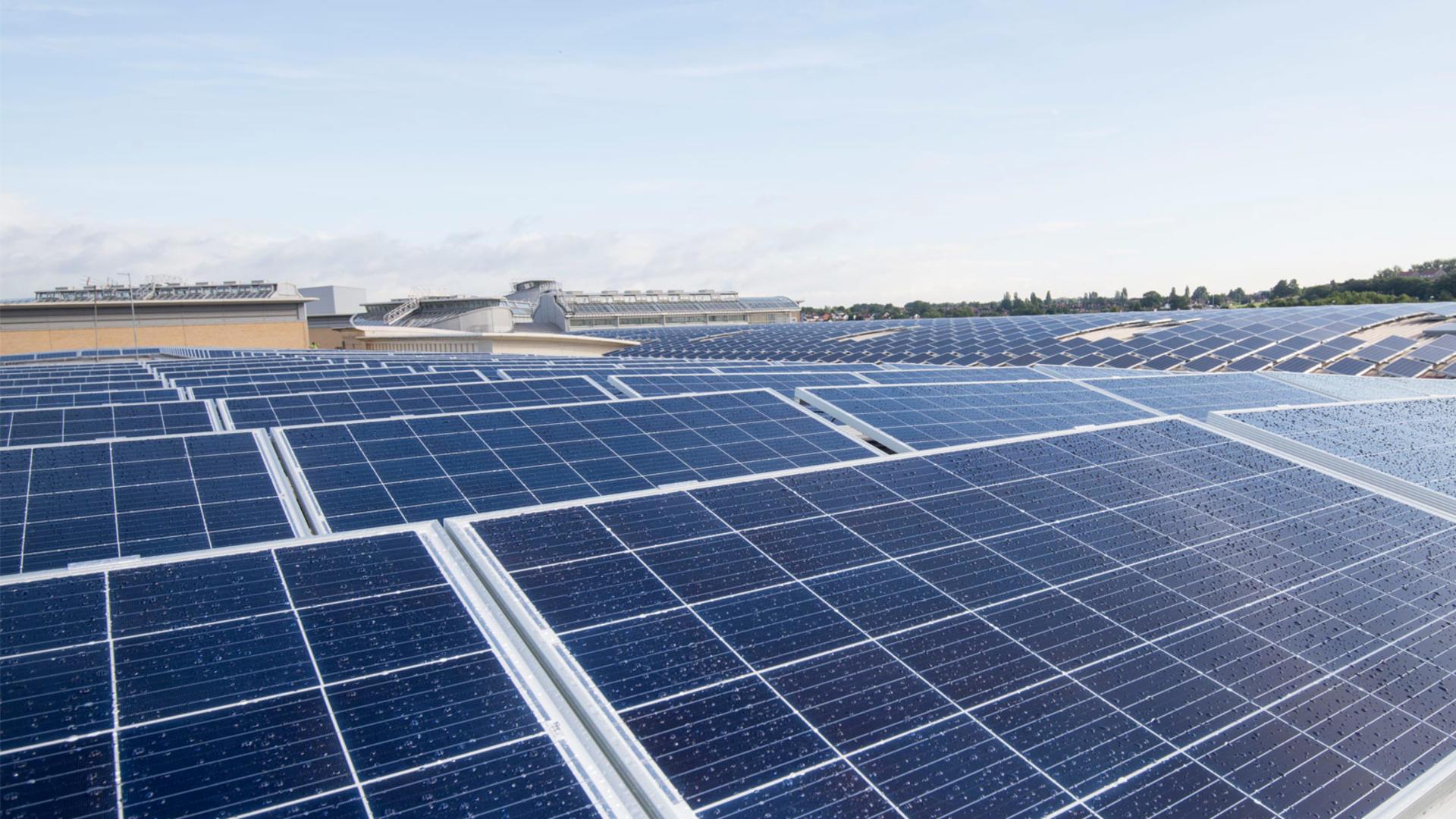 Solar Powered Shopping Landsec